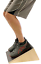 Slant Incline Board Wedge for Calf Achilles Stretch with Balance Support Strap
