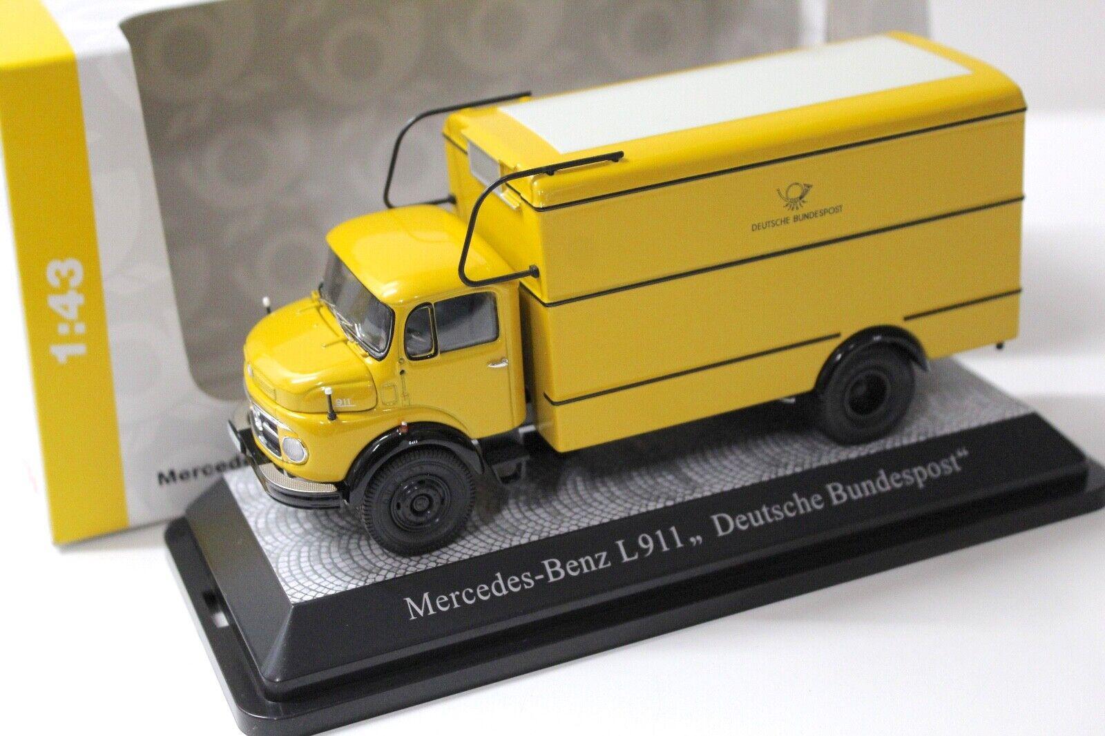 1 43 Premium ClassiXXs Mercedes L911 Paketkraftwagen NEW bei PREMIUM-MODELCARS