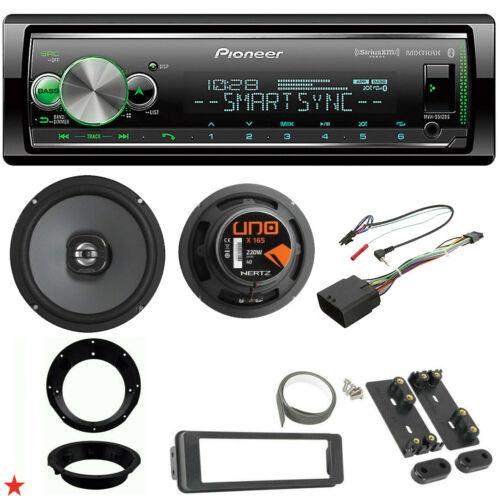 """PIONEER RADIO FOR HARLEY DAVIDSON FLHT INSTALL FLHX KIT HERTZ 6.5/"""" SPEAKERS S512"""