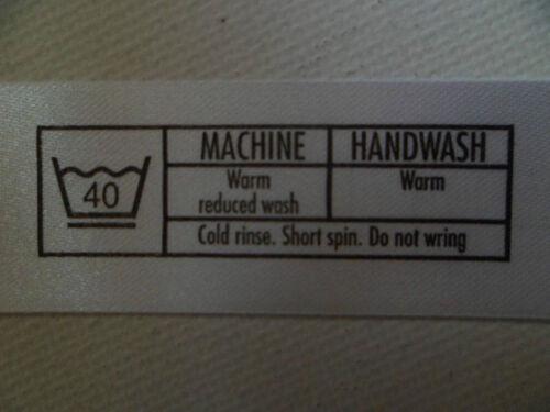 ru vendeur rapide p/&p 50 ou 100 x vêtements vêtement lavage entretien contenu étiquettes