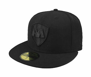 New-Era-59Fifty-Cap-Rayados-de-Monterrey-Mexican-Soccer-Club-Fitted-Hat-Black