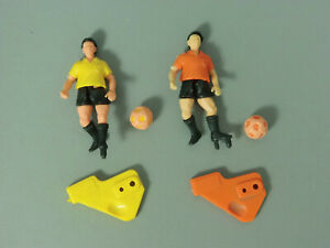 STECKIS-Fussballer-EU-1989-groessere-Version-2-versch-in-gelb-und-orange