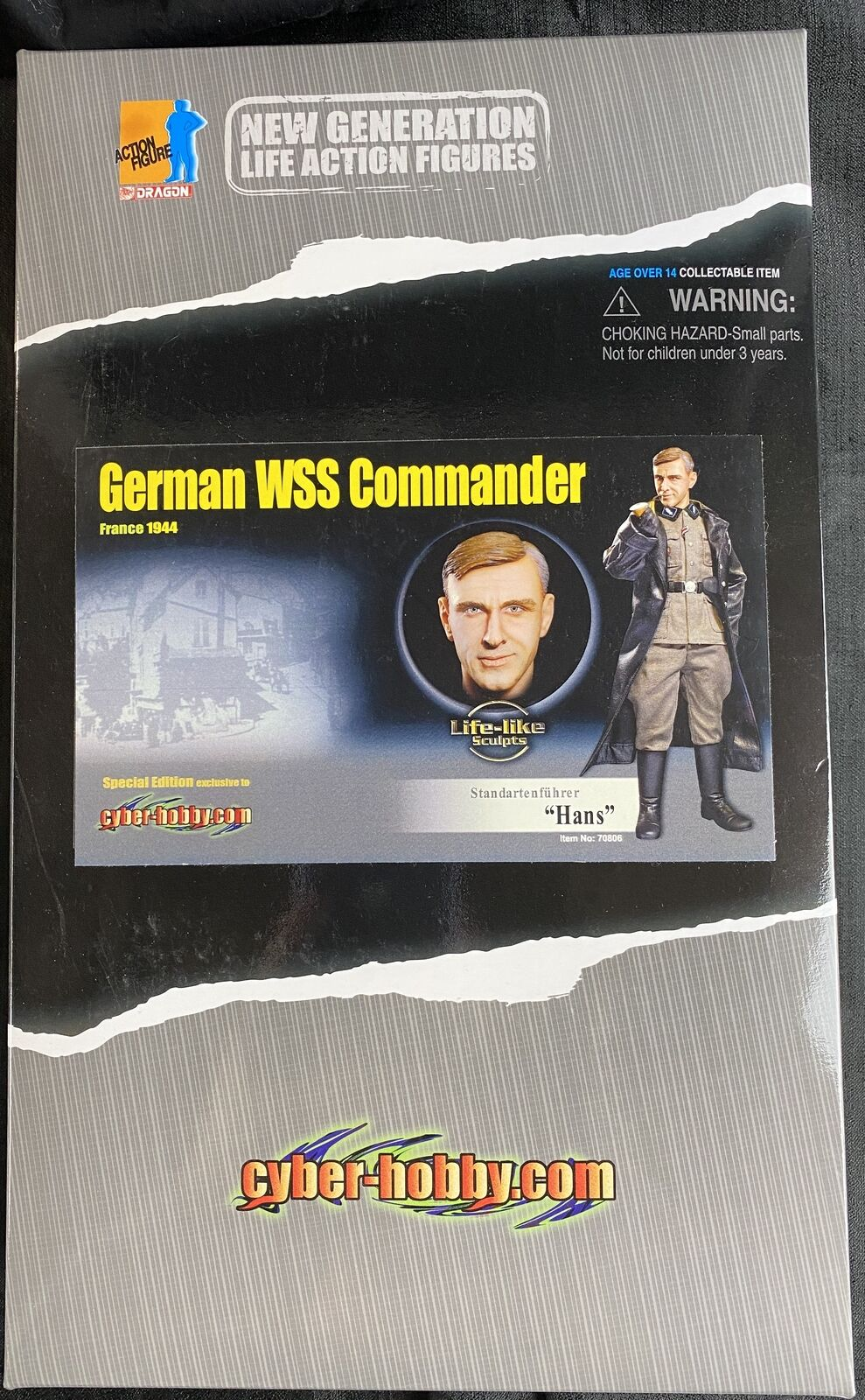 DRAGON CYBER-HOBBY WWII HANS Special Edition GERMAN WSS Commander  70806