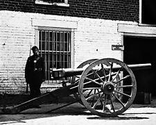 New 8x10 Civil War Photo: Breech Loading Whitworth Gun in Richmond, Virginia