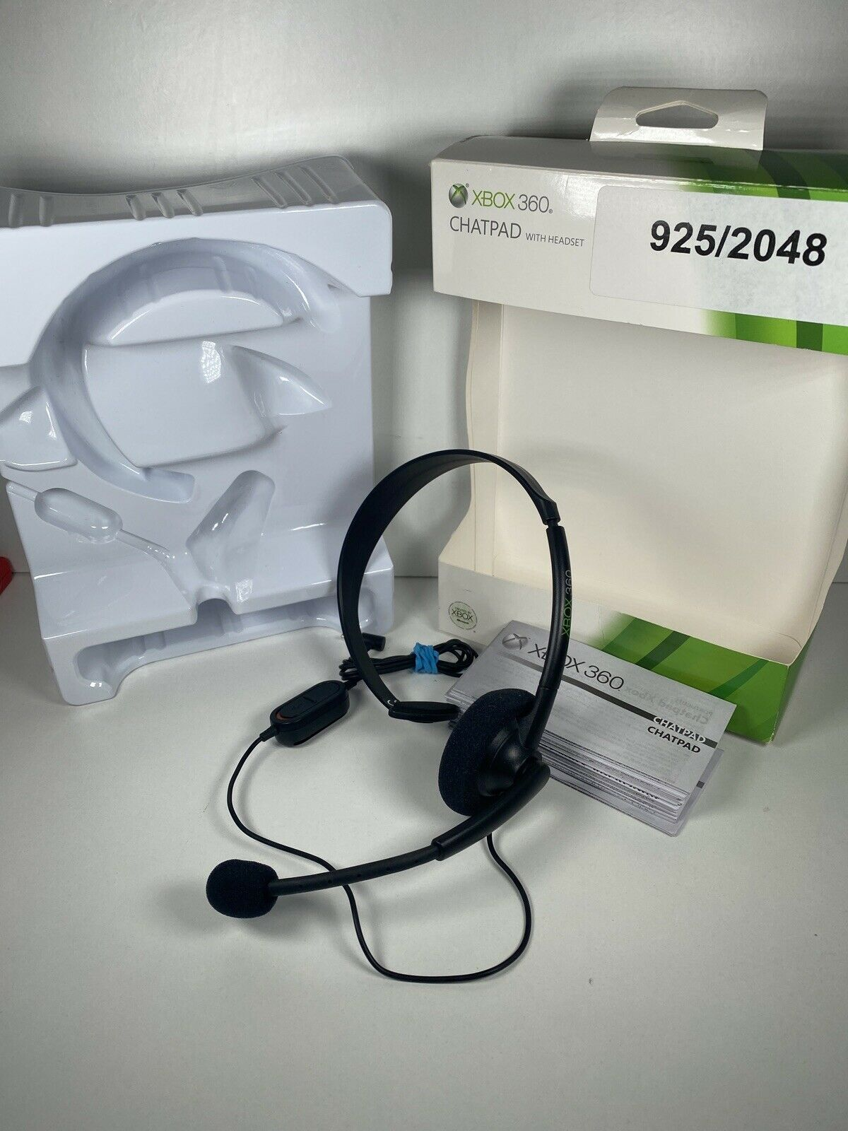 Microsoft Xbox 360 Genuine Chatpad Headset Only Boxed