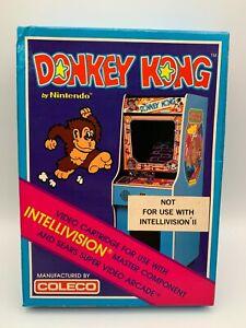 Donkey Kong by Nintendo | Intellivision | Coleco (Factory Sealed!)