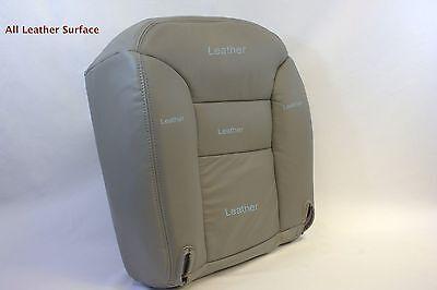 1995 1996 1997 1998 1999 Tahoe Yukon Silverado Bottom Leather Seat Cover Tan