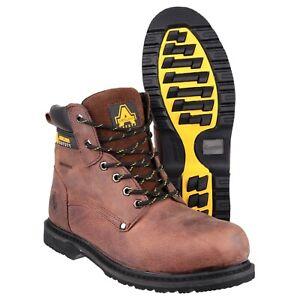 Amblers-FS145-Impermeable-Bota-De-Trabajo-Con-Cordones-De-Seguridad-UK6-13