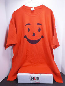 Gildan-Ultra-Cotton-Kool-Aid-Man-Red-T-shirt-Men-039-s-Size-2XLarge