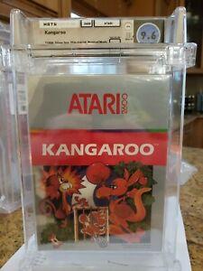 Kangaroo (Atari 2600, 1988) wata graded 9.6! Beautiful!