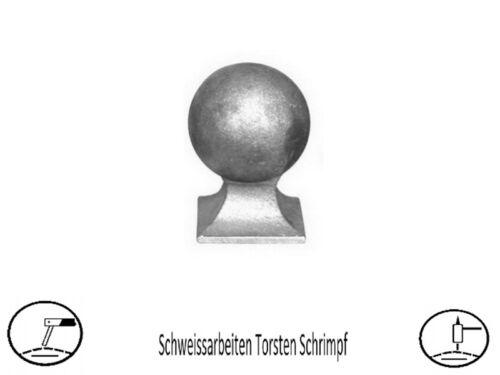 1 Stk Schmiedeeisen Pfostenabdeckung 100x100 mm