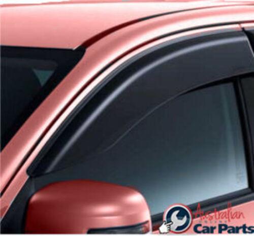 Genuine New set of 2 Single cab Weather shields Mitsubishi Triton MQ 2016