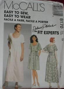 8170-McCalls-SEWING-Pattern-Vintage-Misses-EASY-Dress-Palmer-Pletsch-UNCUT-OOP
