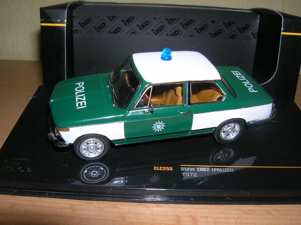 Ixo BMW 2002 Polizei Police Baujahr 1972  1 43 Artikel CLC255
