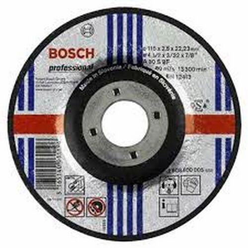 DISCO ABRASIVO PER TAGLIO 115X1 MARCA GRINDING//BOSCH