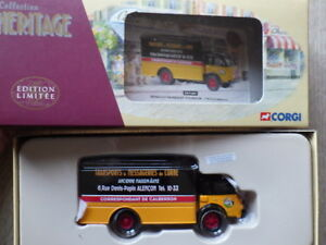 CORGI-Collection-Heritage-EX-71007-Renault-Faineant-Fourgon-TMO-CALBERSON
