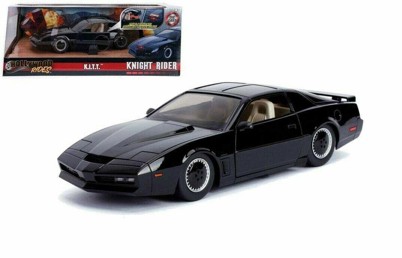 MODELLINO AUTO SUPERCAR PONTIAC KITT SCALA 1 24 CAR MODEL FILM DIECAST COCHE NEW