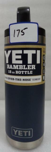 YETI Rambler Insulated Stainless Steel 18 oz. Bottle Navy