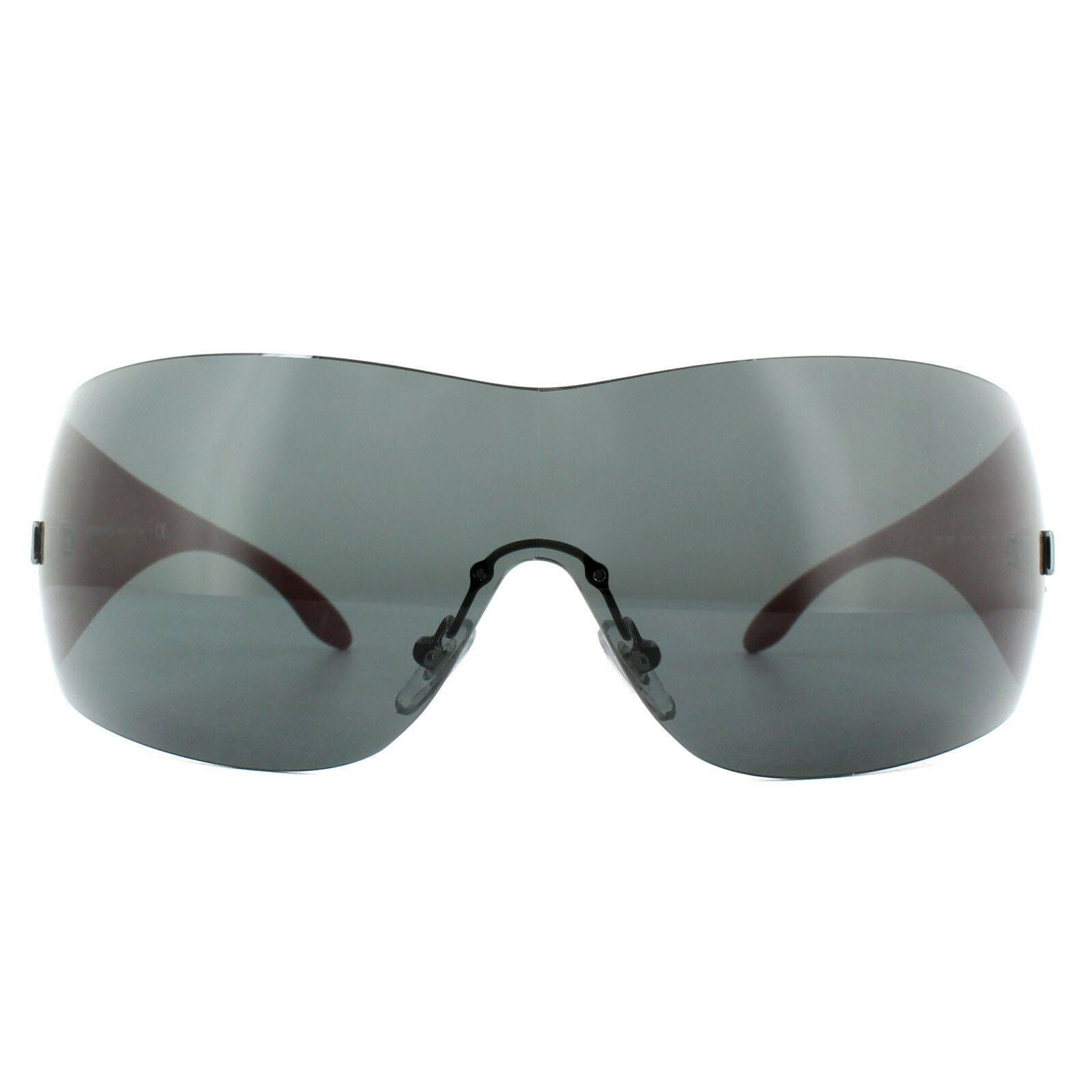 ae8d5e6ca13 Authentic Versace Ve 2054 Sunglasses 1001 87 Black Red Grey Ve2054 ...