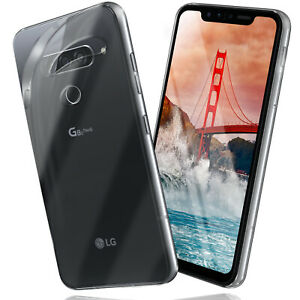 Silicone-Case-for-LG-G8s-Thinq-Protective-Transparent-Ultra-TPU-Back-Cover