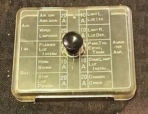 [DIAGRAM_38DE]  Datsun 240z Fuse Box Cover, *Amazing Original Condition* | eBay | 240z Fuse Box |  | eBay