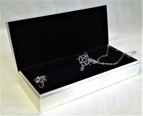 Hermosa Nueva Hearts /& Diamantes Joyero Metal *** reducido 25/% fue £ 40 ***