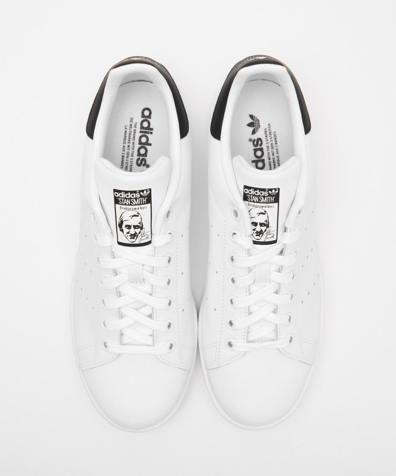 Chaussures ADIDAS STANSMITH Noir Blanc AQ0438 Etats-Unis Homme Taille 4-11