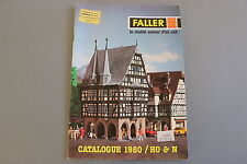 X014 FALLER Train catalogue maquette Ho N 1980 68 pages 29,7*21 F diorama decor