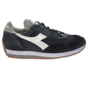 DIADORA HERITAGE EQUIPE Scarpe da uomo Sneakers casual Stone Wash Evo Grigio