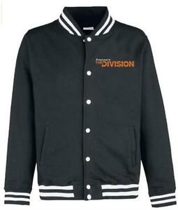Tom-Clancys-The-Division-SHD-Eagle-College-Jacket-Black-Size-Medium