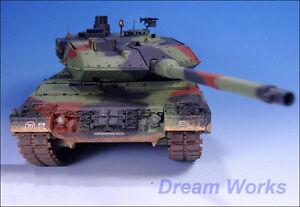Details about Award Winner Built Tamiya 1/35 Leopard 2A5/2A6 MBT  Convertible +PE