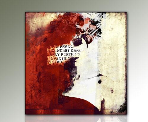Rot Schwarz und Beige LET MERCY COME Paul Sinus Gemälde und Kunstbilder