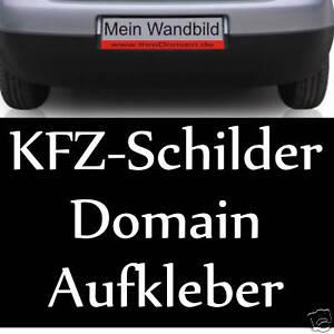 Wunschtext-Domain-Aufkleber-fuer-KFZ-Schild-108-St-Neu