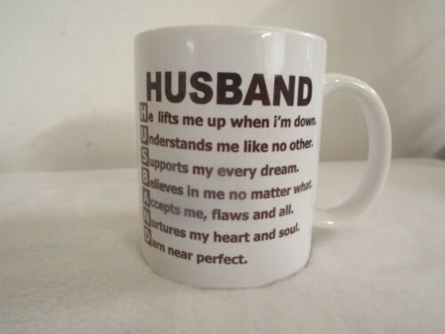 Husband support 11oz ceramic mug fathers day xmas Christmas gift