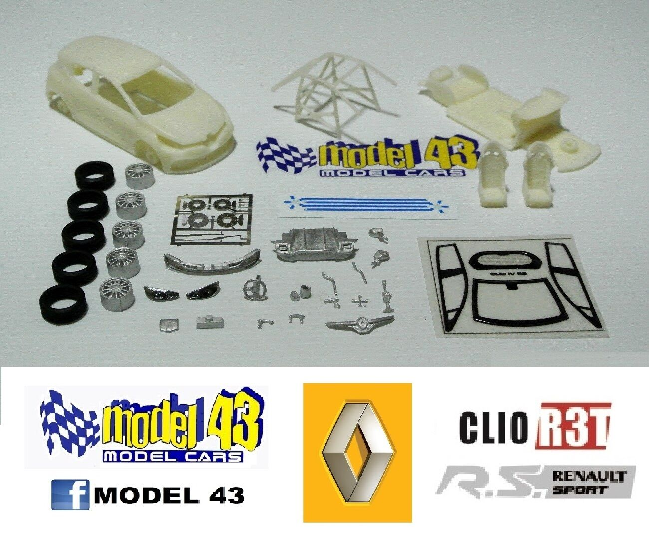 Renault Clio R3T RS - ASSEMBLY KIT