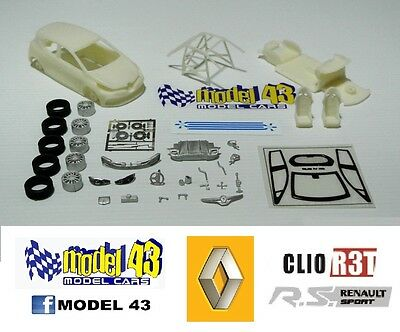 VINYES R DECAL CALCA 1//43 RENAULT CLIO R3 CREDIT ANDORRA J CANTABRIA INF 2009