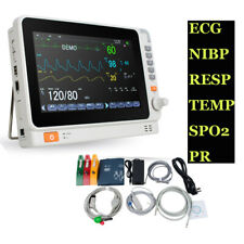 10 Multi Parameter Vital Sign Monitor Dental Patient Monitor Ecg Nibp Resp Temp