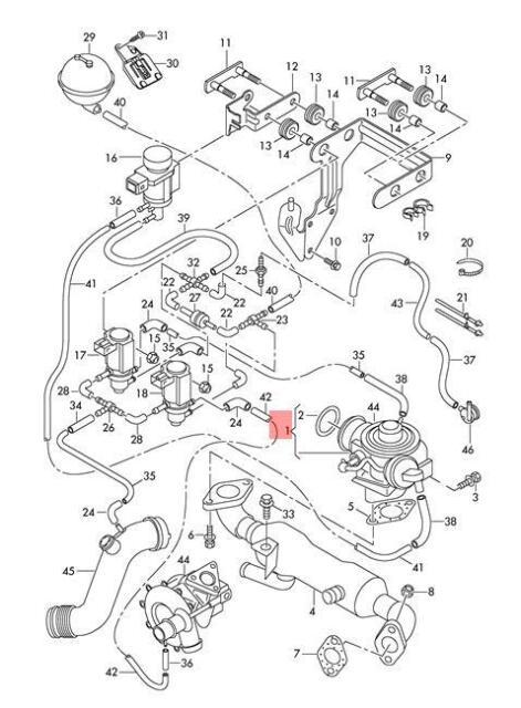Buy Genuine Exhaust Recirculation Valve Lhd Vw Beetle Golf R32 Gti