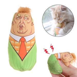 Pet-Cat-Toy-Trump-Stuffed-Plush-Corn-Sound-Toy-Funny-Interactive-Catnip-Squeaky