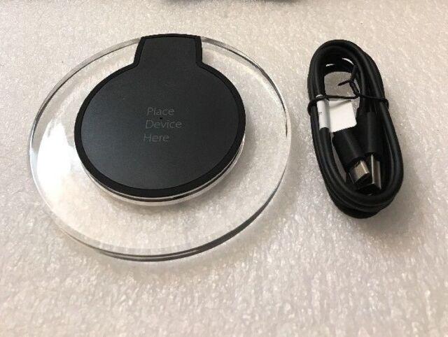 Onn Wireless Charging Pad Samsung 1 Amp Qi Compatible Wireless