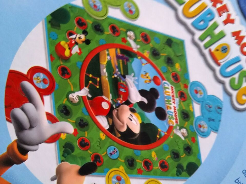club huse, Mickey Mouse, terningespil