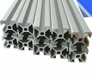 ALU-Profil-Aluprofil-10-Stab-30x30-2000mm-Nut-8-Profile-Aluminium-AlClipTec