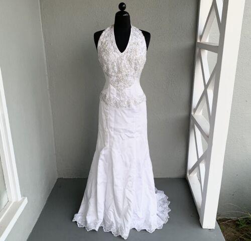 White Wedding Dress (Halloween Costume)