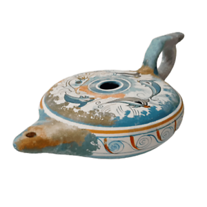 Ceramic-lamp-Minoan-art-Greek-Pottery