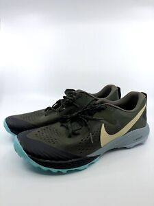 New-Sz-12-Men-039-s-Nike-Zoom-Terra-Kiger-5-Trail-Running-Olive-AQ2219-301
