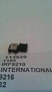 INTERNATIONAL-RECTIFIER-IRF9210-SMD-IC-New-Lot-Quantity-5