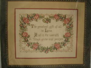 Bucilla-Counted-Cross-Stitch-The-Greatest-Gift-40476-NEW-11-x-14