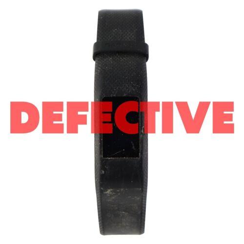 DEFECTIVE Garmin Vivosport Fitness and Activity Wristband Tracker Large//Black