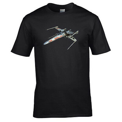 Star Wars X Wing Fighter new hope empire strikes back return jedi fan t-shirt