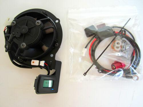 Trail Tech Honda Digital Fan Kit CRF 450 X 04 05 07 08 09 12 14 15 17 18 732-FN6